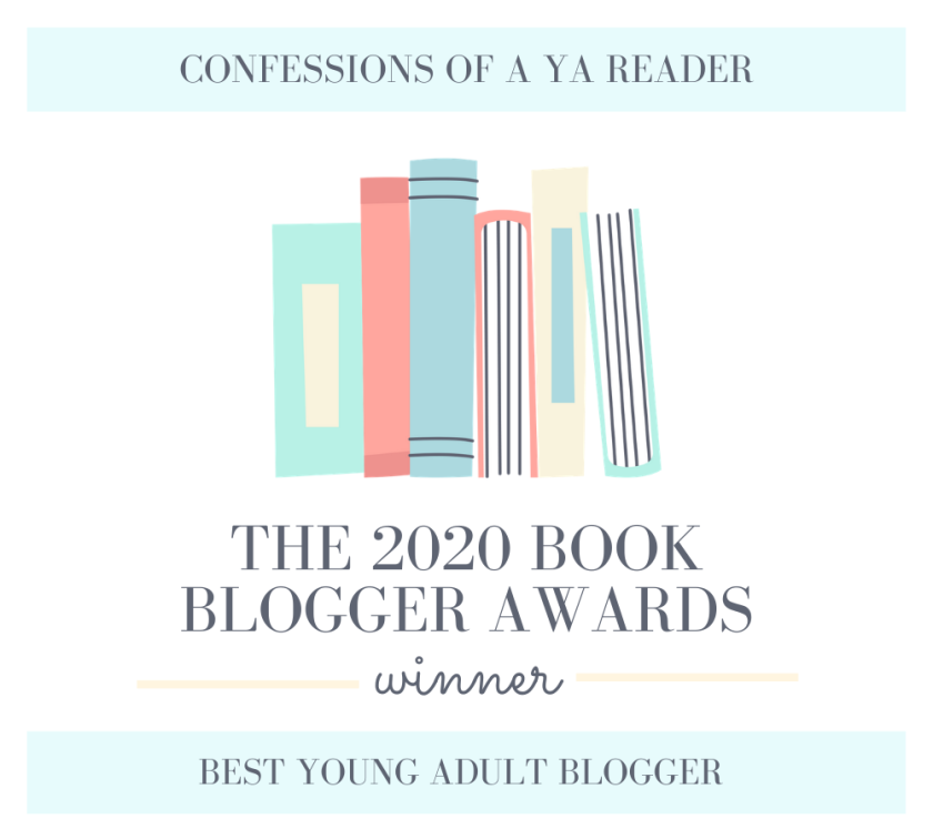 BBA 2020 Winners Badges - Confessions of a YA reader