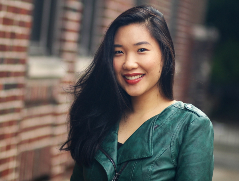 Emily X. R. Pan self portrait
