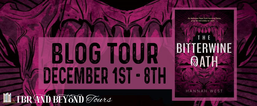 The Bitterwine Oath tour banner