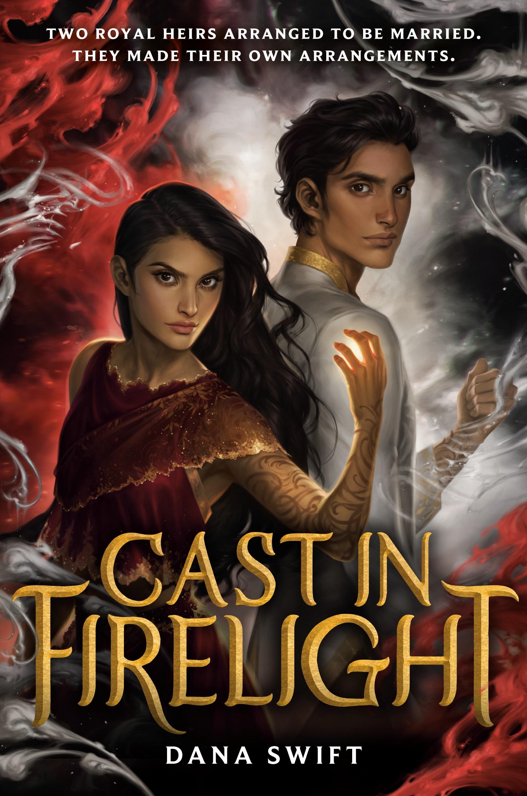 Cast in Firelight book cover