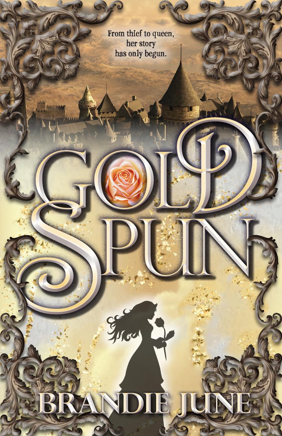 Gold Spun book cover
