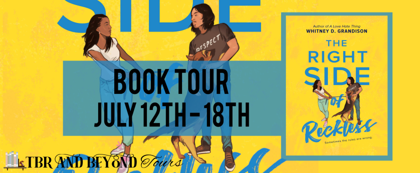 The Right Side of Reckless tour banner